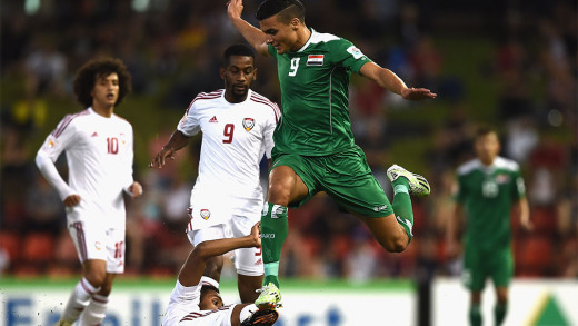 Ahmed Yasin. (Foto: AFC Asian Cup)