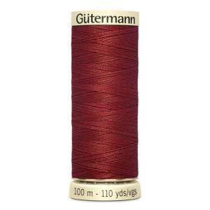 Fils Gütermann 100m couleur Rouge : 221 © Eyrelles Tissus