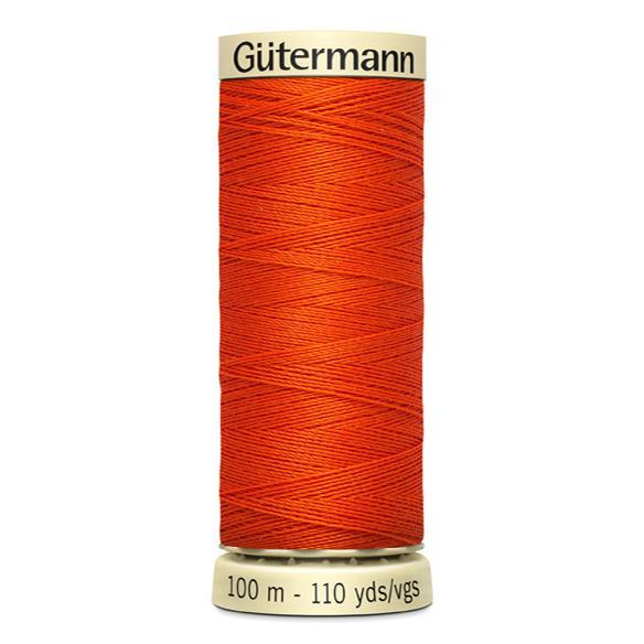 Fils Gütermann 100m couleur Orange : 351 © Eyrelles Tissus