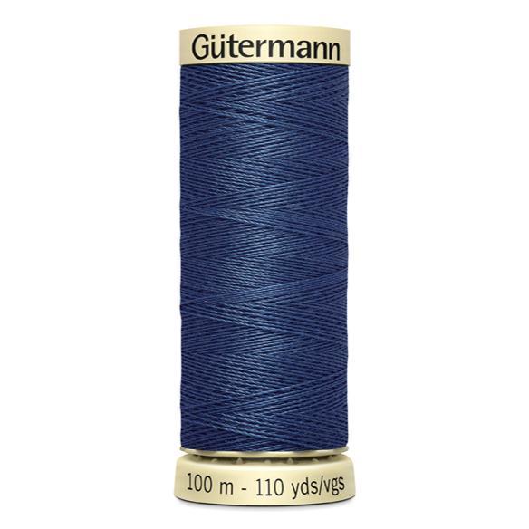 Fils Gütermann 100m couleur Bleu : 68 © Eyrelles Tissus