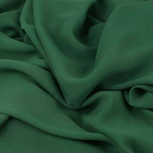 "Tissu voile crêpe uni ""sapin"" © Eyrelles Tissus"