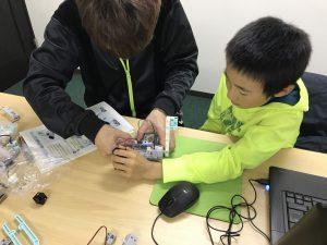 親子でロボットプログラミング