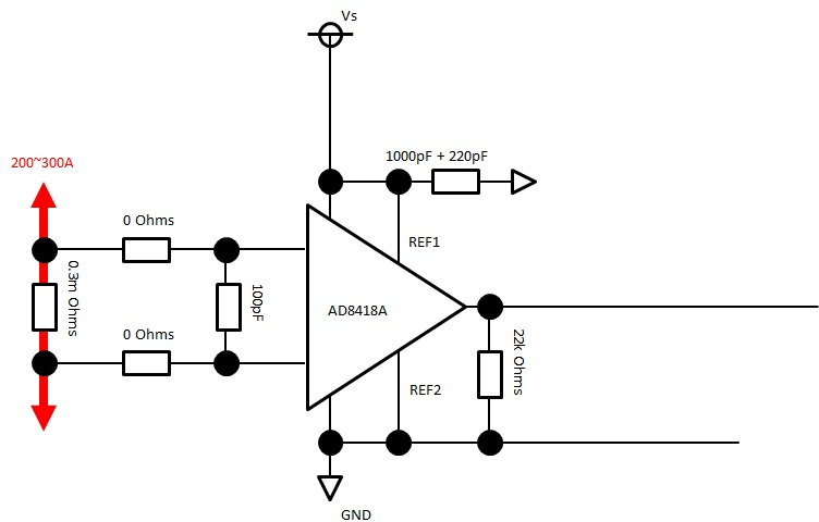 (AD8418A)Is there any possibility that the output latch to
