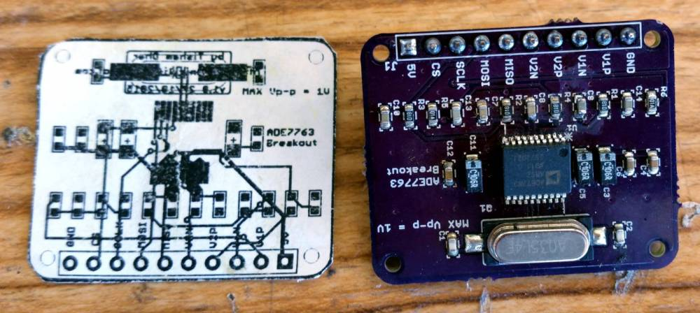 medium resolution of i have created a small ade7763 breakout board to test its functionality using the teensy microcontroller i have 2 working builds of the board