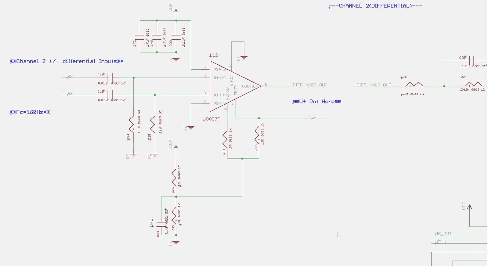 Ad Oscillating When Input Voltage Or Freq Increases