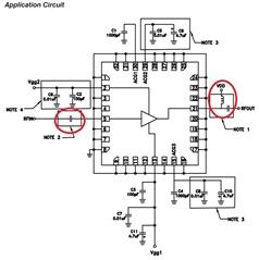HMC998APM5E 2 watt power amplifier External DC Block