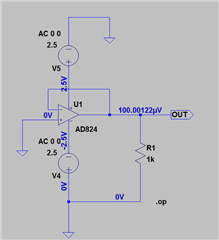 SPICE model of AD8657 - Q&A - Operational Amplifiers - EngineerZone
