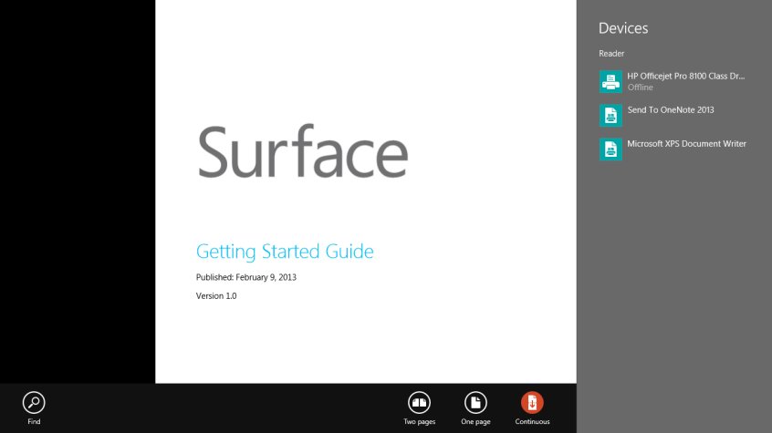 Printing PDF Files on the Microsoft Surface RT | Ben There, Done That