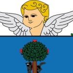 El ángel del escudo de Barakaldo