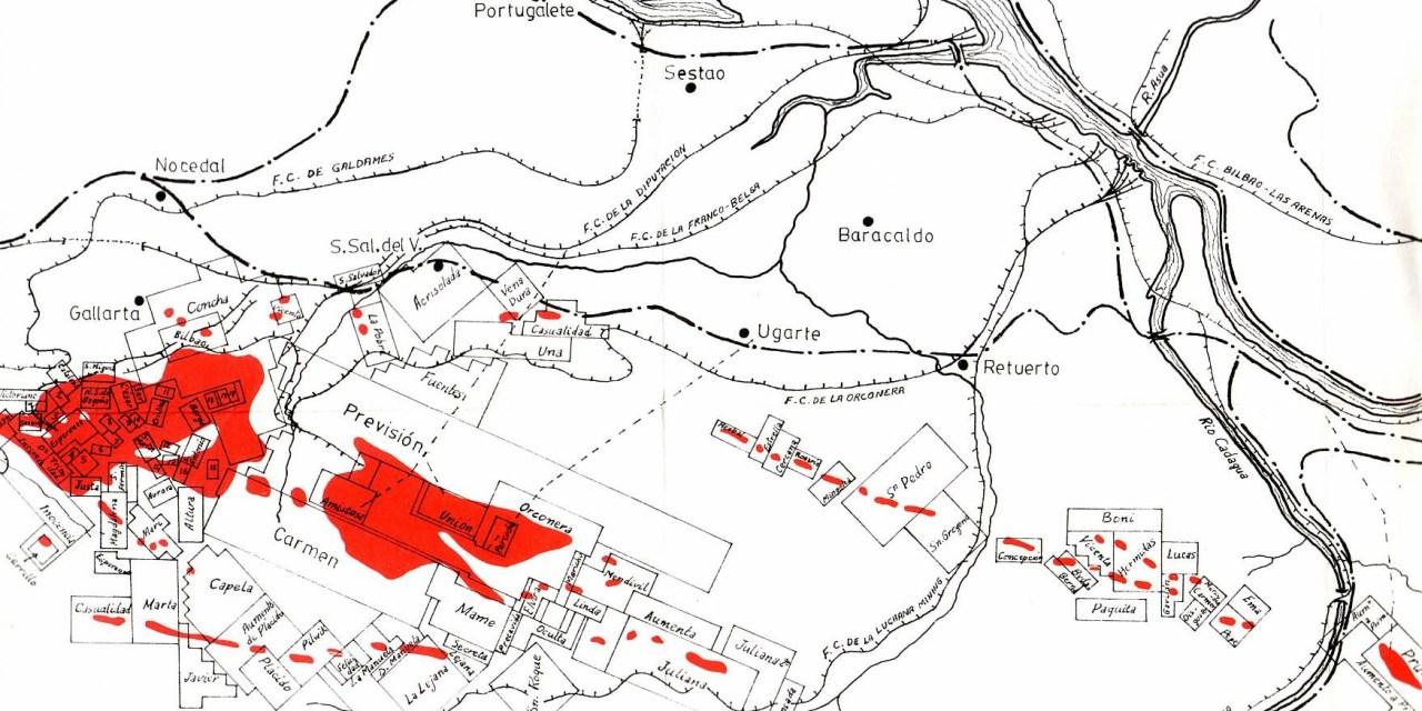 La minería en la cuenca del Río Nervión