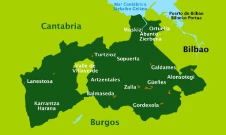 Encartaciones de Bizkaia: la fragmentación feudal
