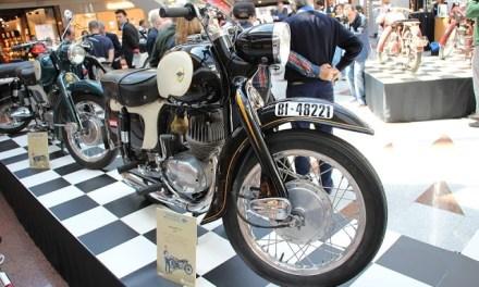 Una exposición de motos Lube recuerda el pasado de la industria motociclista en Barakaldo