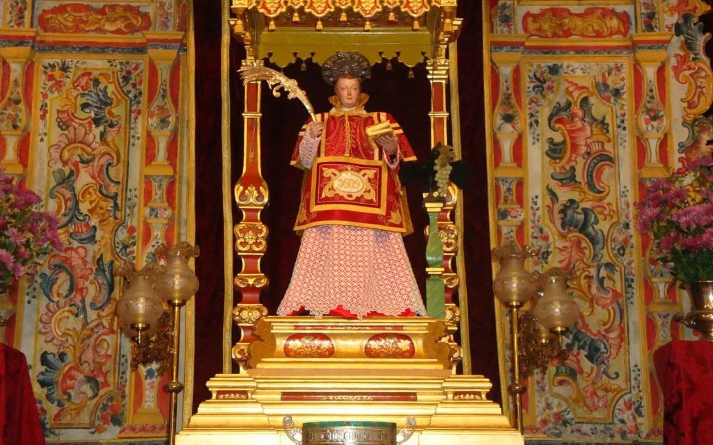 San Vicente, Mártir (patrono de la anteiglesia)