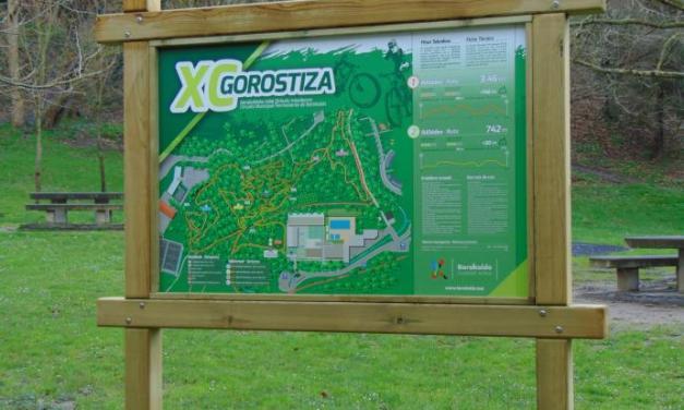 Vandalizan el nuevo circuito de bicicletas de Gorostiza en Barakaldo
