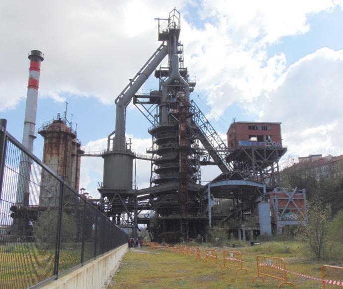 Sestao pide que se acabe «a la mayor brevedad» la restauración del horno alto