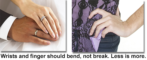 how to guide hand