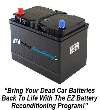 Reconditioning a 12v Car Battery