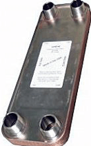 outdoor wood boiler plate exchanger