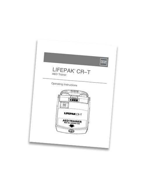 Physio-Control LIFEPAK® CR-T Training System Operating