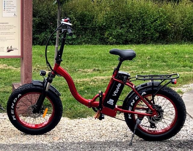 New - 2019 Vtuvia SF-20 Electric Folding Bike - $1,199