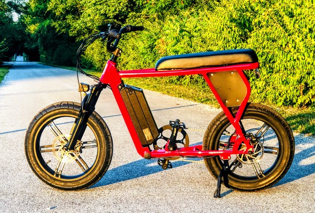 The Juiced City Scrambler E-Bike