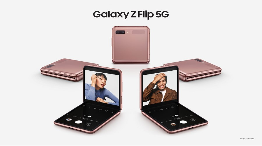 Samsung Galaxy Z Flip Gets 5G post thumbnail
