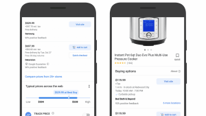 Google Shopping Now Offers Price Comparisons and Curbside Availability