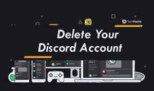 How To Delete Your Discord Account on Mobile/PC (2020)
