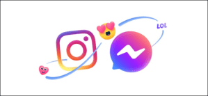 How to Message a Facebook Friend From Instagram