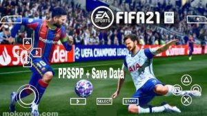 FIFA 21 PPSSPP ISO File Download With PS4 Camera English