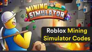 Roblox Codes for Mining Simulator (January 2021) [Working]