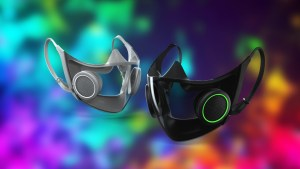 Razer's Project Hazel Face Mask Has N95 Filters, Amplifier, and (of Course) RGB
