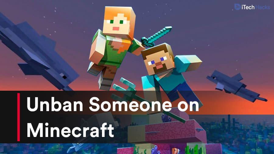 How To Unban Someone on Minecraft