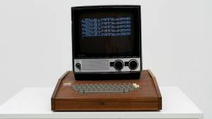 A Hand-Built, Original Apple 1 Computer Is Yours for Just 1.5 Million Dollars