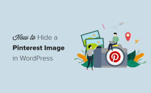 How to Hide Pinterest Images in Your WordPress Blog Posts
