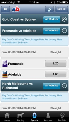 bet of the week sportingbet odds