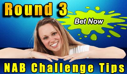round 3 NAB Challenge betting tips