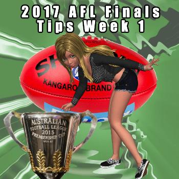 2017 AFL Finals Tips Week 1