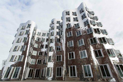 F. Gehry Architektur, Düsseldorf