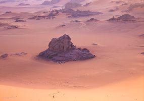 Wüstencamp in der Sahara, Algerien