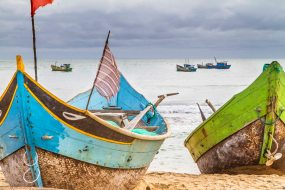 Fischerboote in Vietnam