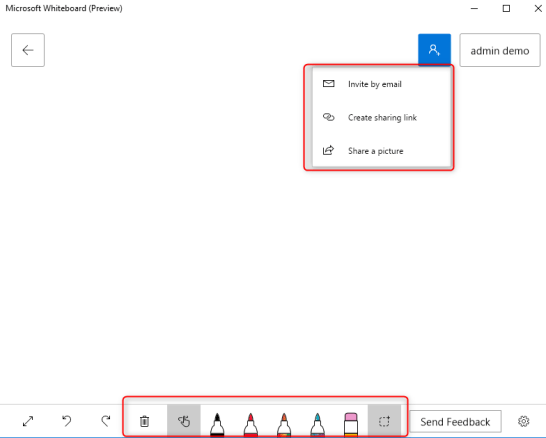 Microsoft Whiteboard -4