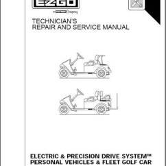 Taylor Dunn Wiring Diagram 2009 Ford Explorer E-z-go - Ez Go Service Manual Elec 01-10 Part # 28646g01 Genuine Golf Cart Parts