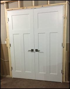 How To French Or Double Door Installation Ez Hang
