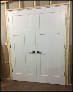 Marvelous Double Door Installation
