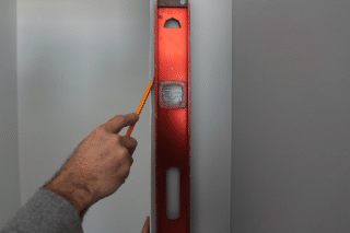 mark it double door installation