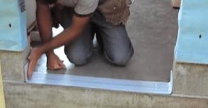 exterior door installtion, step 4