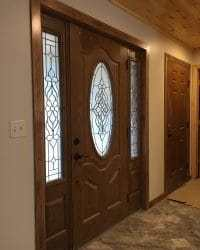 Installing a Door With a Sidelight