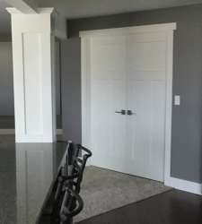 install a door without shims