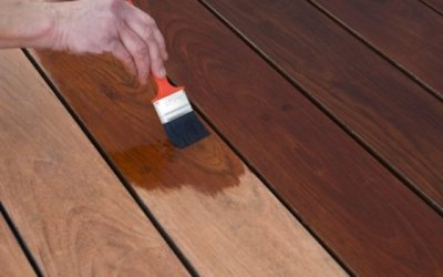 How to Paint an Old Deck